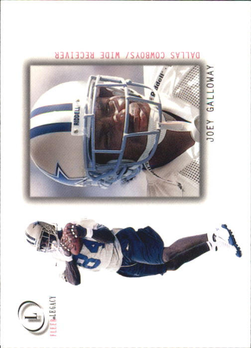 2001 Fleer Legacy #31 Joey Galloway