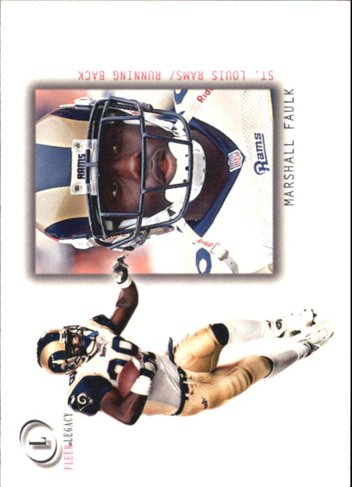 2001 Fleer Legacy #34 Marshall Faulk