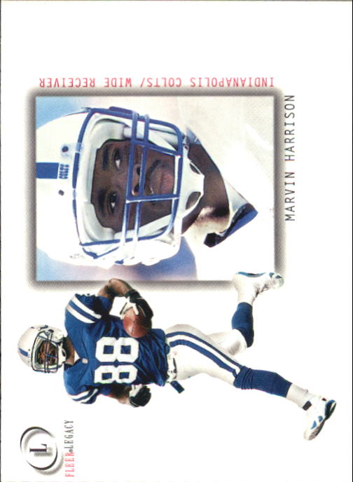 2001 Fleer Legacy #38 Marvin Harrison