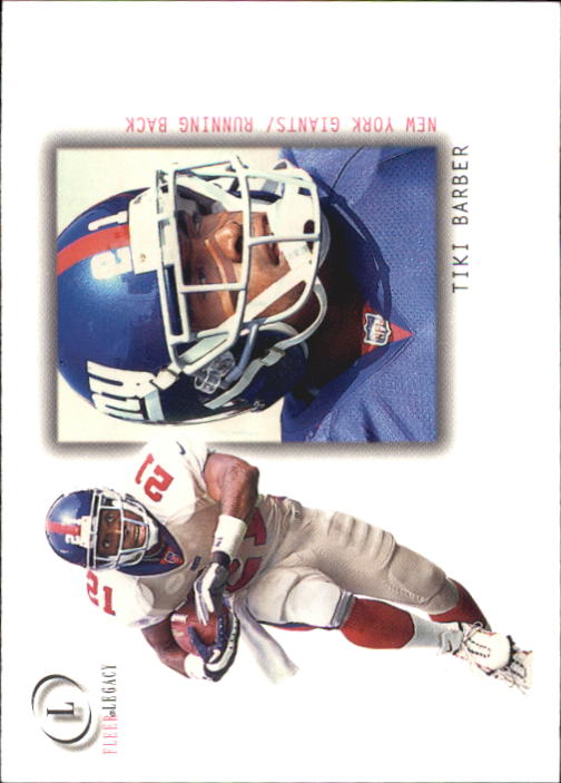 2001 Fleer Legacy #46 Tiki Barber