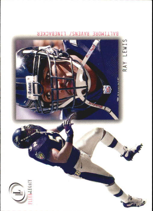 2001 Fleer Legacy #50 Ray Lewis