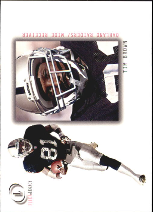 2001 Fleer Legacy #52 Tim Brown