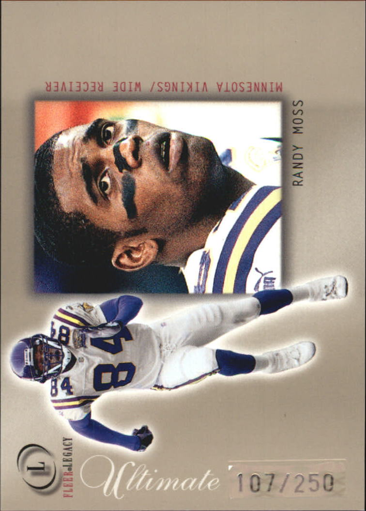 2001 Fleer Legacy Ultimate Legacy #37 Randy Moss