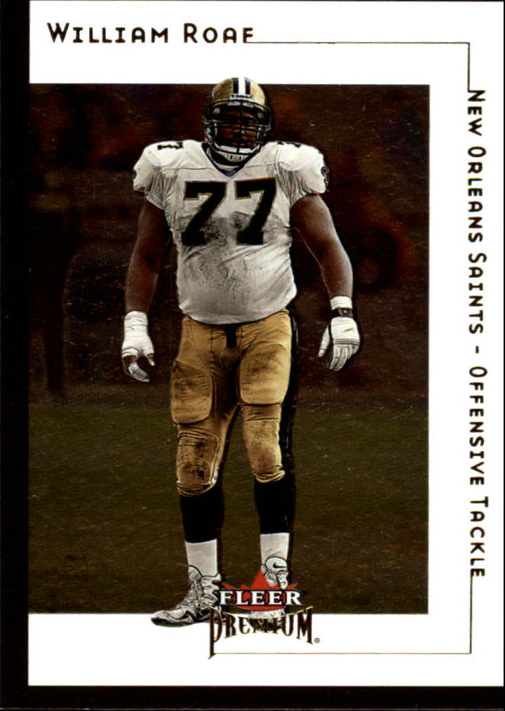 2001 Fleer Premium #43 William Roaf