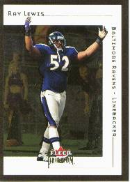 2001 Fleer Premium #47 Ray Lewis