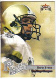 2001 Fleer Premium Rookie Revolution #3 Drew Brees