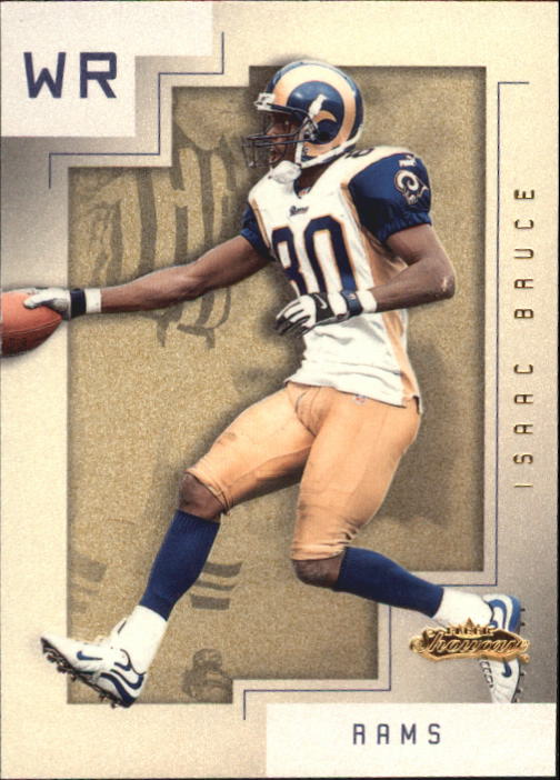 2001 Fleer Showcase #69 Isaac Bruce