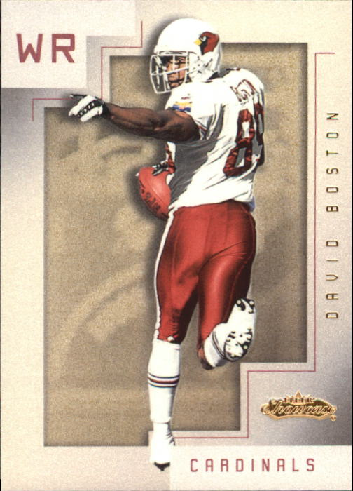 2001 Fleer Showcase #78 David Boston