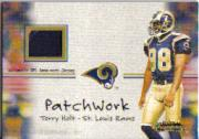 2001 Fleer Showcase Patchwork #11 Torry Holt