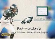 2001 Fleer Showcase Patchwork #18 Todd Pinkston