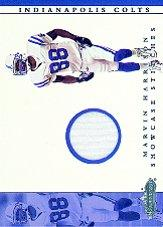 2001 Fleer Showcase Stitches #7 Marvin Harrison