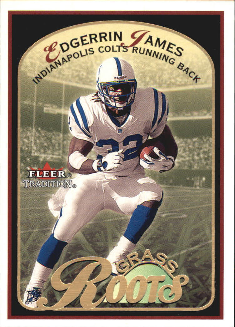 2001 Fleer Tradition Grass Roots #2 Edgerrin James