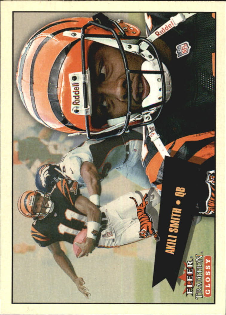2001 Fleer Tradition Glossy #44 Akili Smith