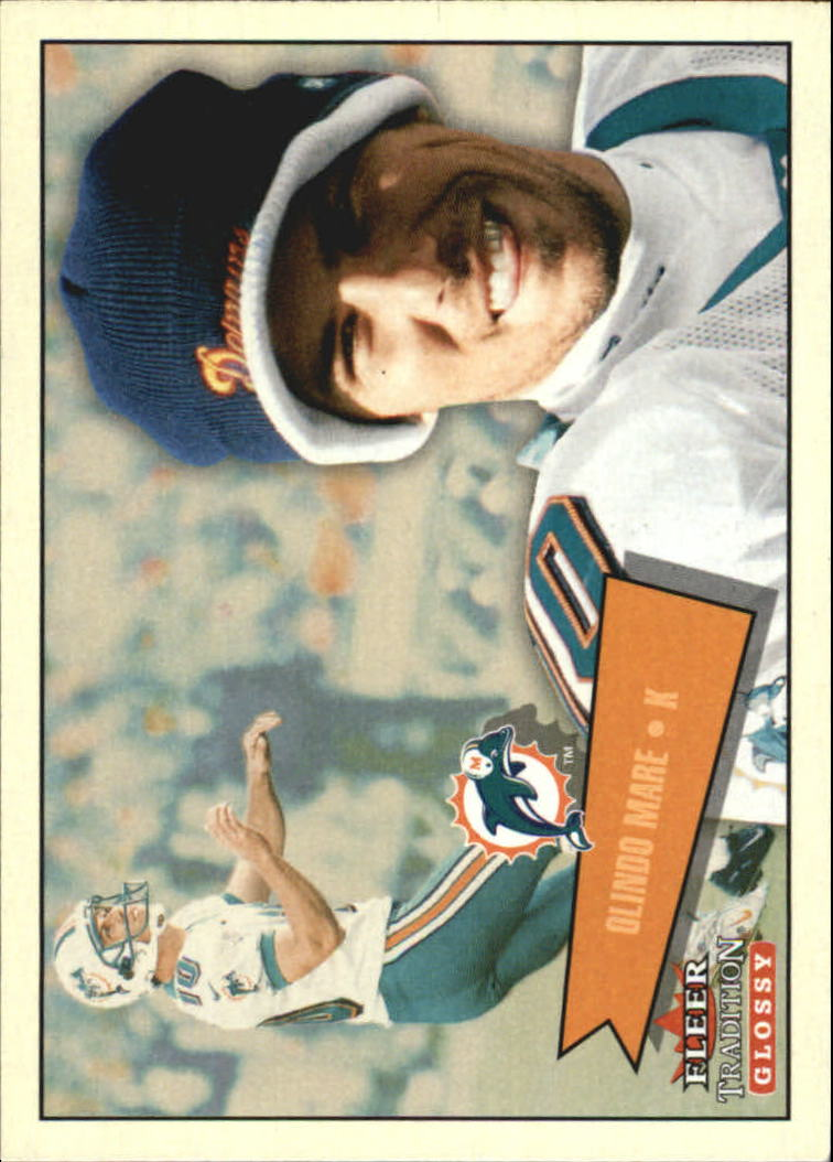2001 Fleer Tradition Glossy #72 Olindo Mare