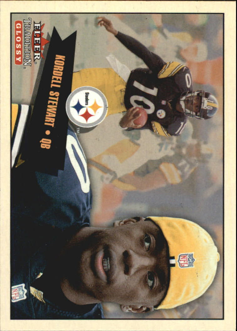 2001 Fleer Tradition Glossy #90 Kordell Stewart
