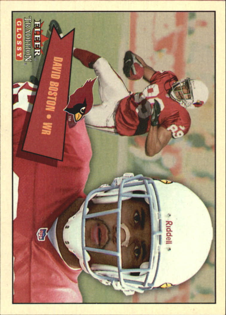 2001 Fleer Tradition Glossy #145 David Boston