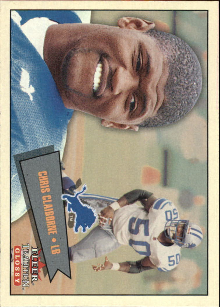 2001 Fleer Tradition Glossy #166 Chris Claiborne
