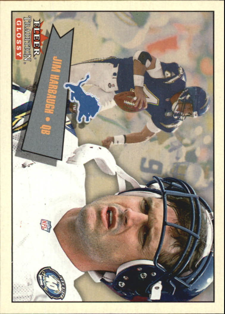 2001 Fleer Tradition Glossy #265 Jim Harbaugh