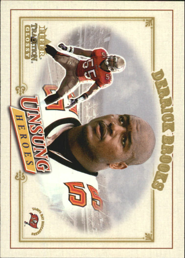 2001 Fleer Tradition Glossy #335 Derrick Brooks UH