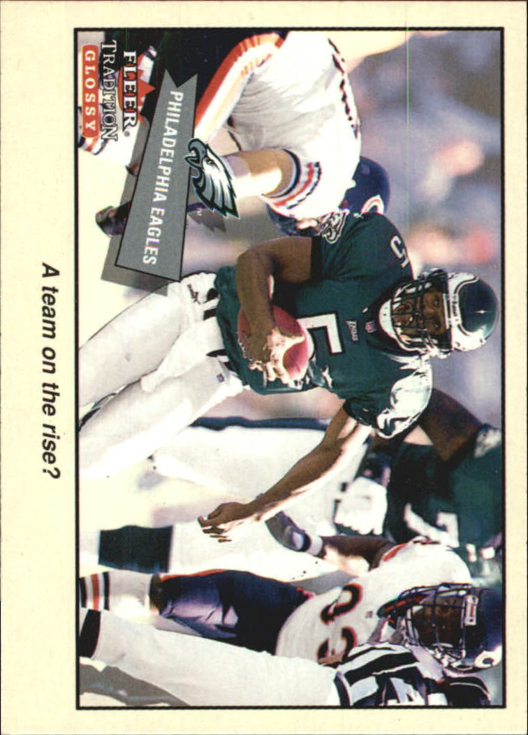 2001 Fleer Tradition Glossy #361 Philadelphia Eagles TC