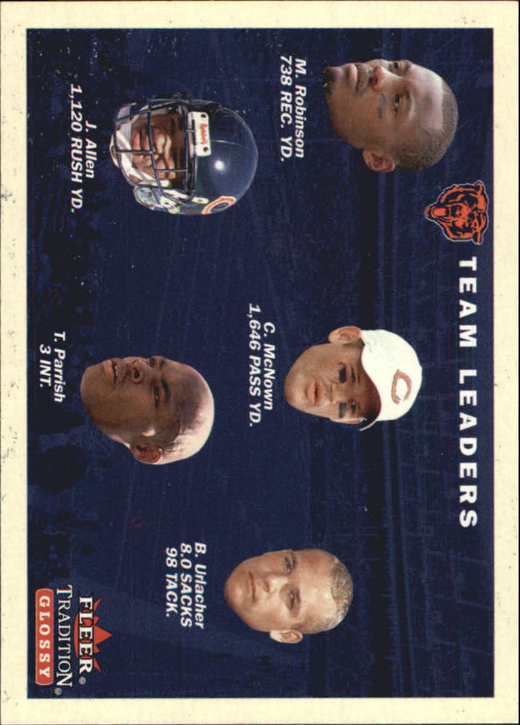 2001 Fleer Tradition Glossy #391 Chicago Bears TL front image