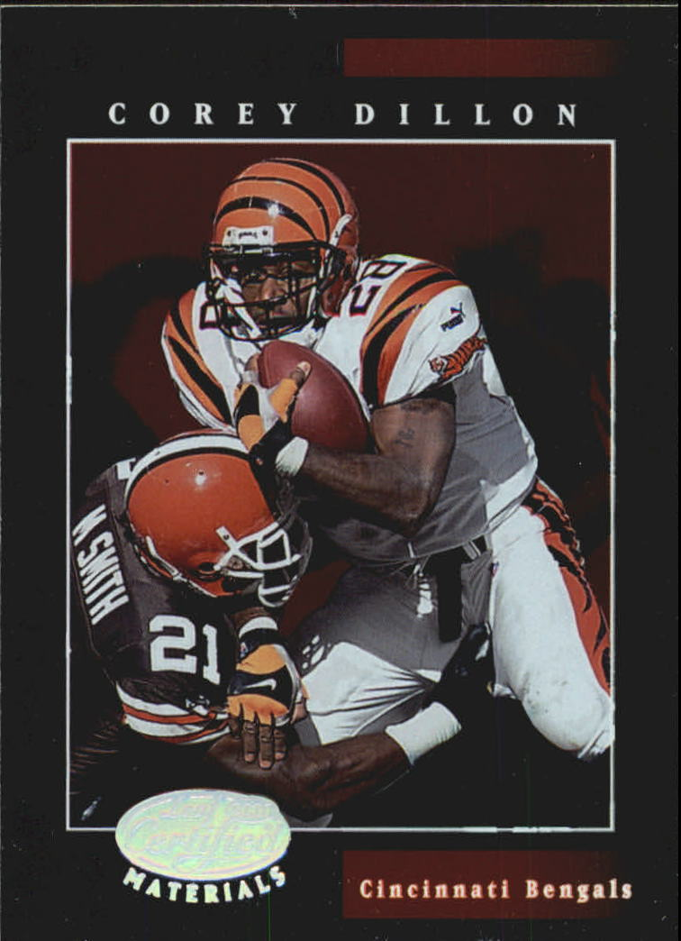2001 Leaf Certified Materials #16 Corey Dillon