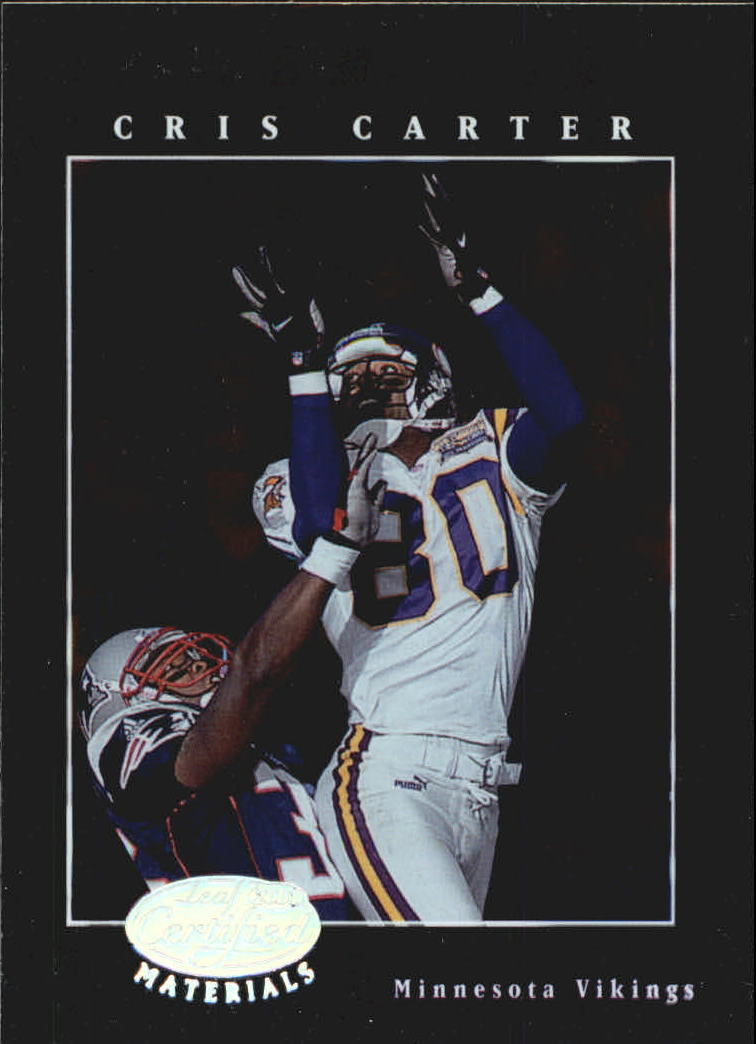 2001 Leaf Certified Materials #17 Cris Carter