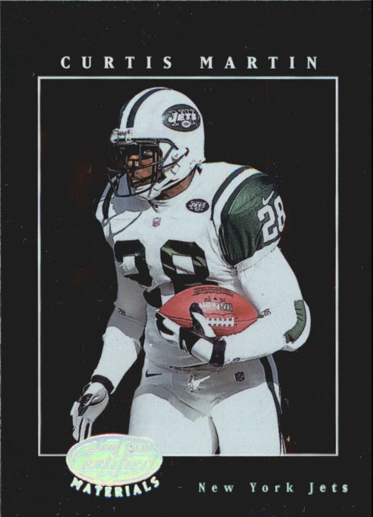 2001 Leaf Certified Materials #18 Curtis Martin