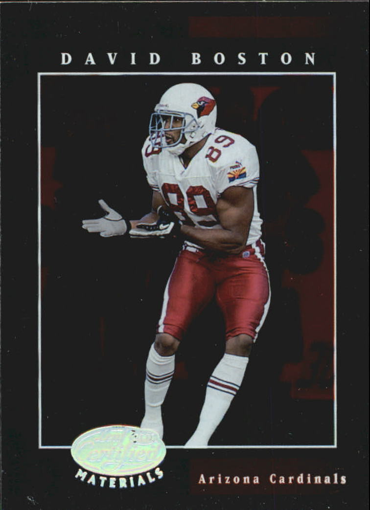 2001 Leaf Certified Materials #22 David Boston