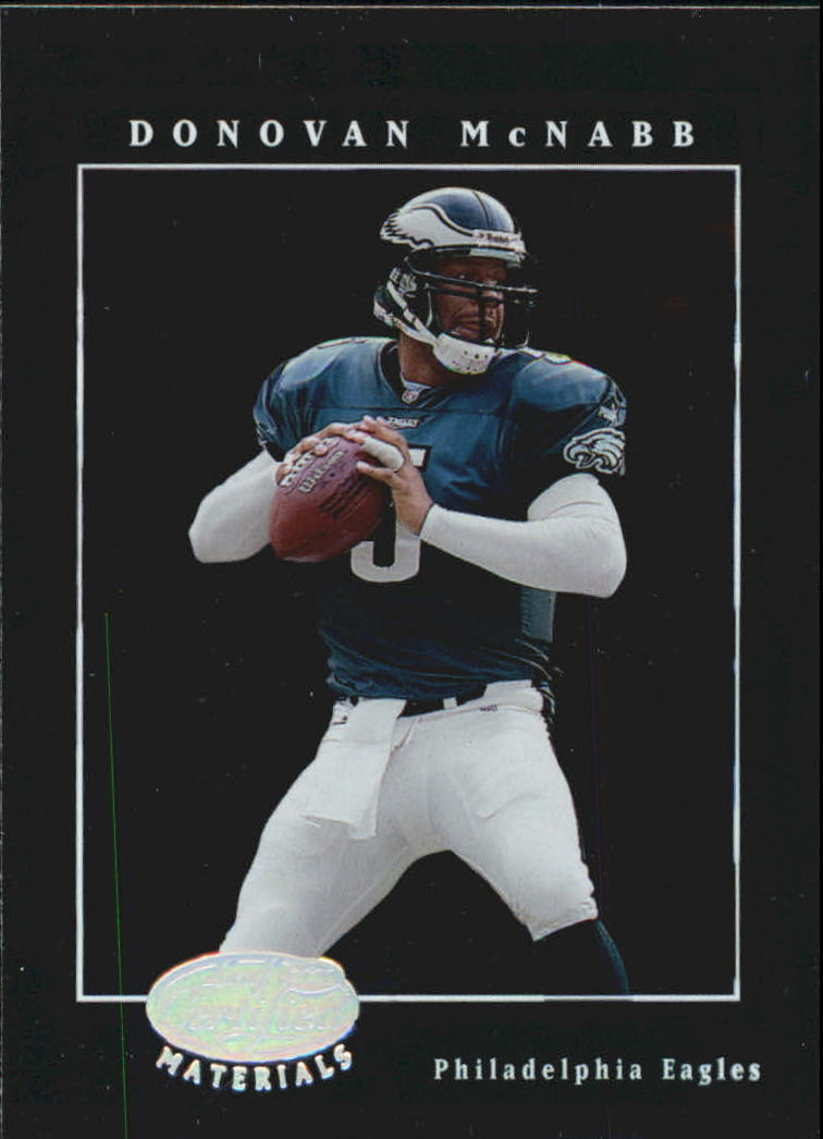 2001 Leaf Certified Materials #24 Donovan McNabb