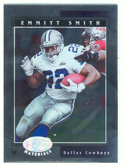 2001 Leaf Certified Materials #32 Emmitt Smith