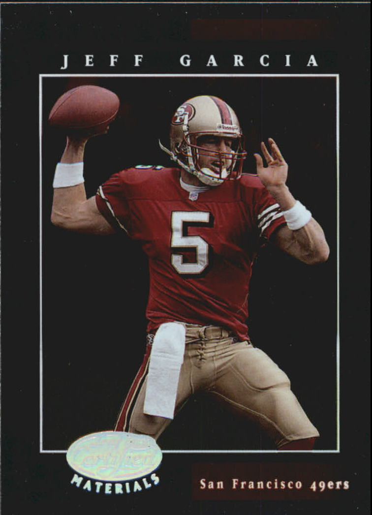 2001 Leaf Certified Materials #44 Jeff Garcia