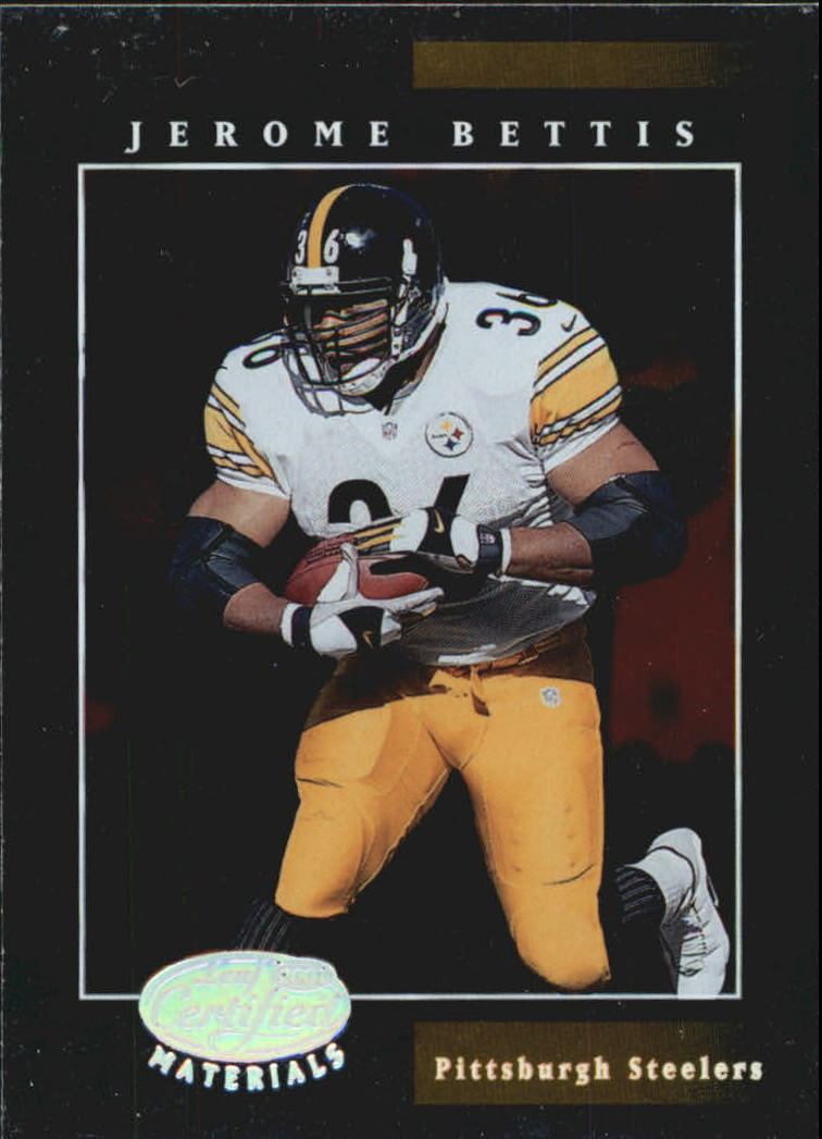 2001 Leaf Certified Materials #46 Jerome Bettis