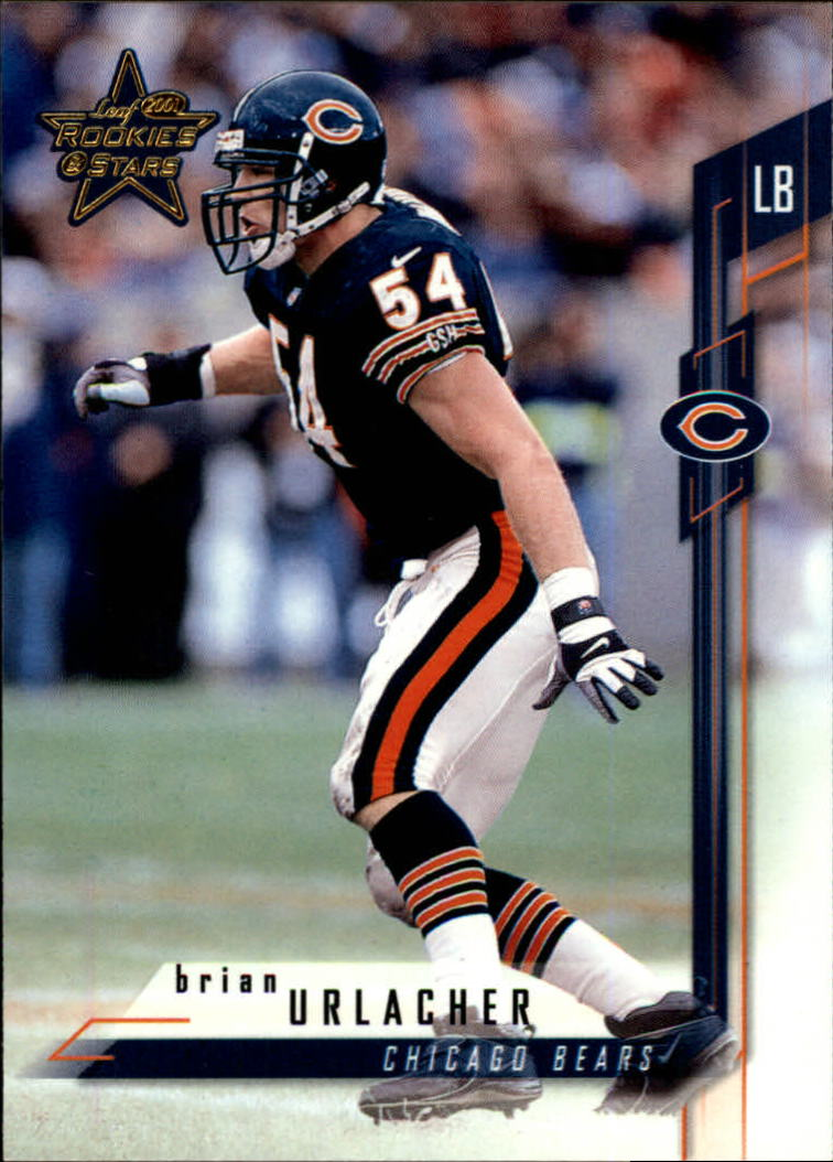 2001 Leaf Rookies and Stars #7 Brian Urlacher
