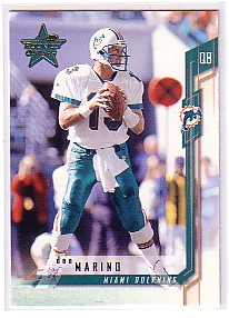 2001 Leaf Rookies and Stars #18 Dan Marino