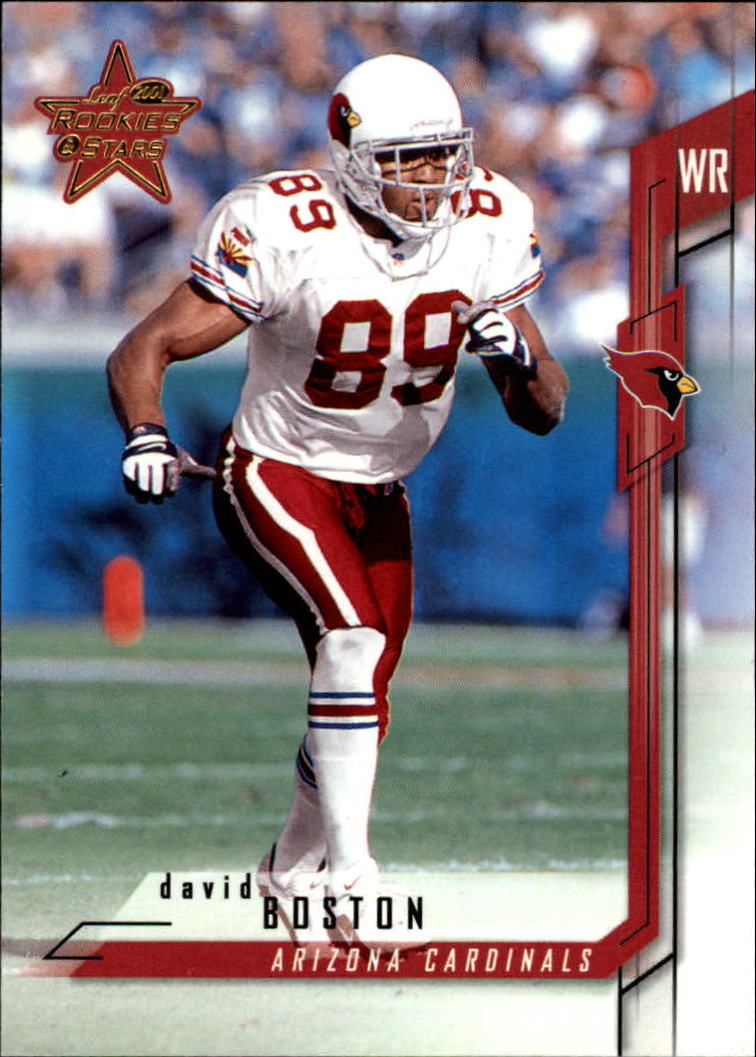 2001 Leaf Rookies and Stars #20 David Boston