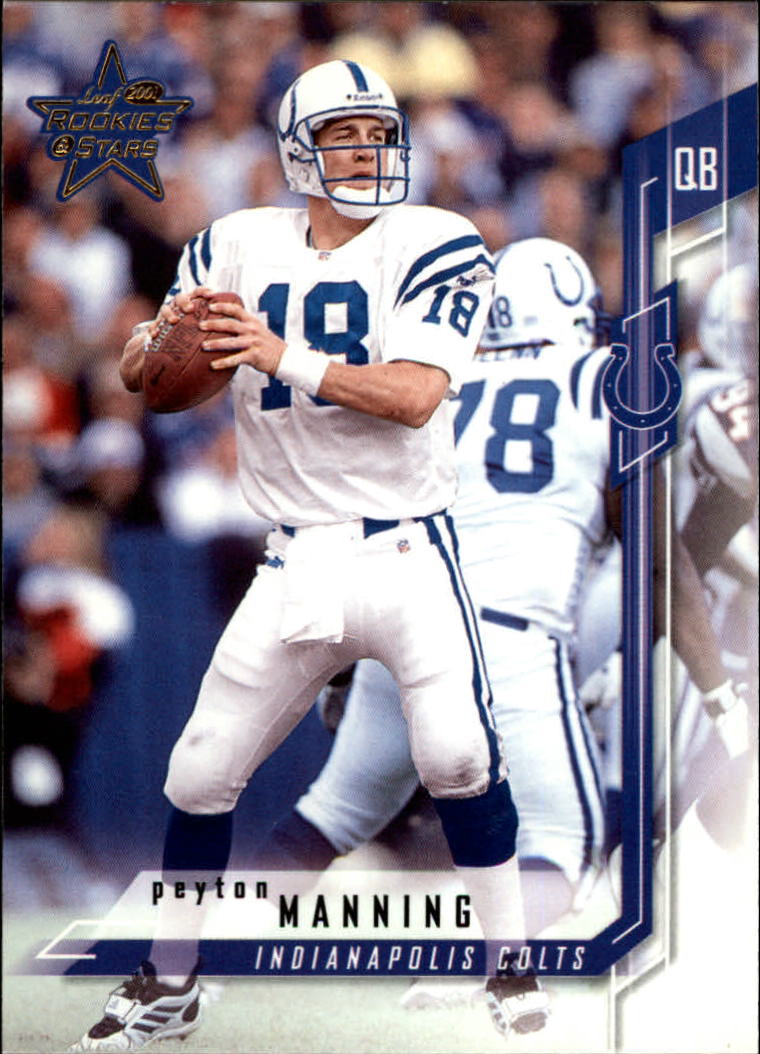 2001 Leaf Rookies and Stars #68 Peyton Manning
