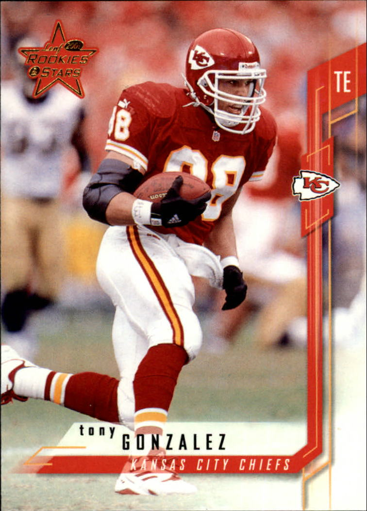 2001 Leaf Rookies and Stars #90 Tony Gonzalez