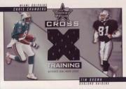 2001 Leaf Rookies and Stars Crosstraining #CT16 Tim Brown/Chris Chambers