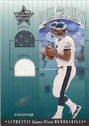 2001 Leaf Rookies and Stars Dress For Success #DFS22 Donovan McNabb
