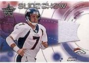 2001 Leaf Rookies and Stars Slideshow #SS13 John Elway