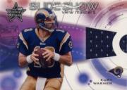 2001 Leaf Rookies and Stars Slideshow #SS14 Kurt Warner