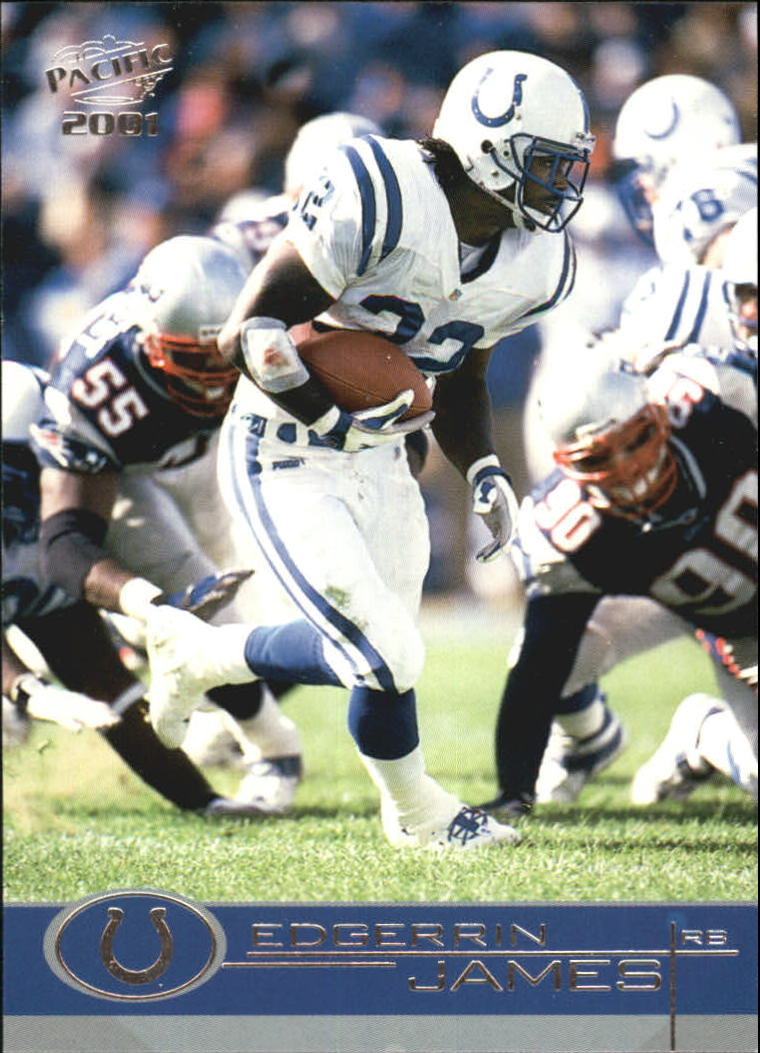 2001 Pacific #182 Edgerrin James