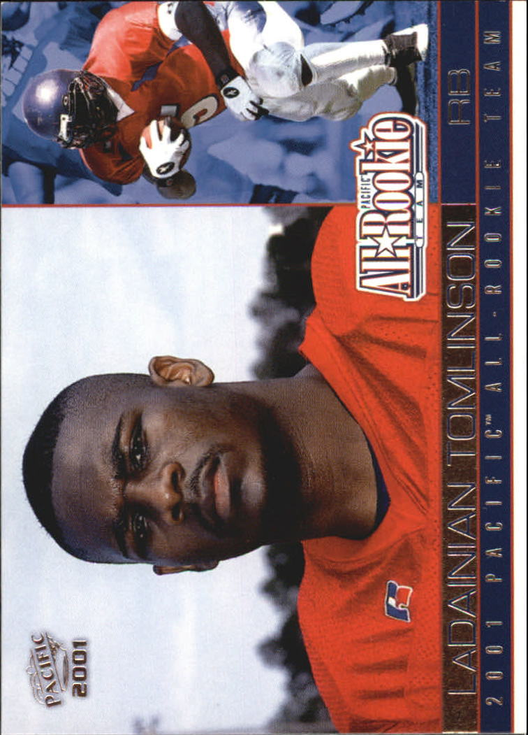 2001 Pacific All-Rookie Team #7 LaDainian Tomlinson