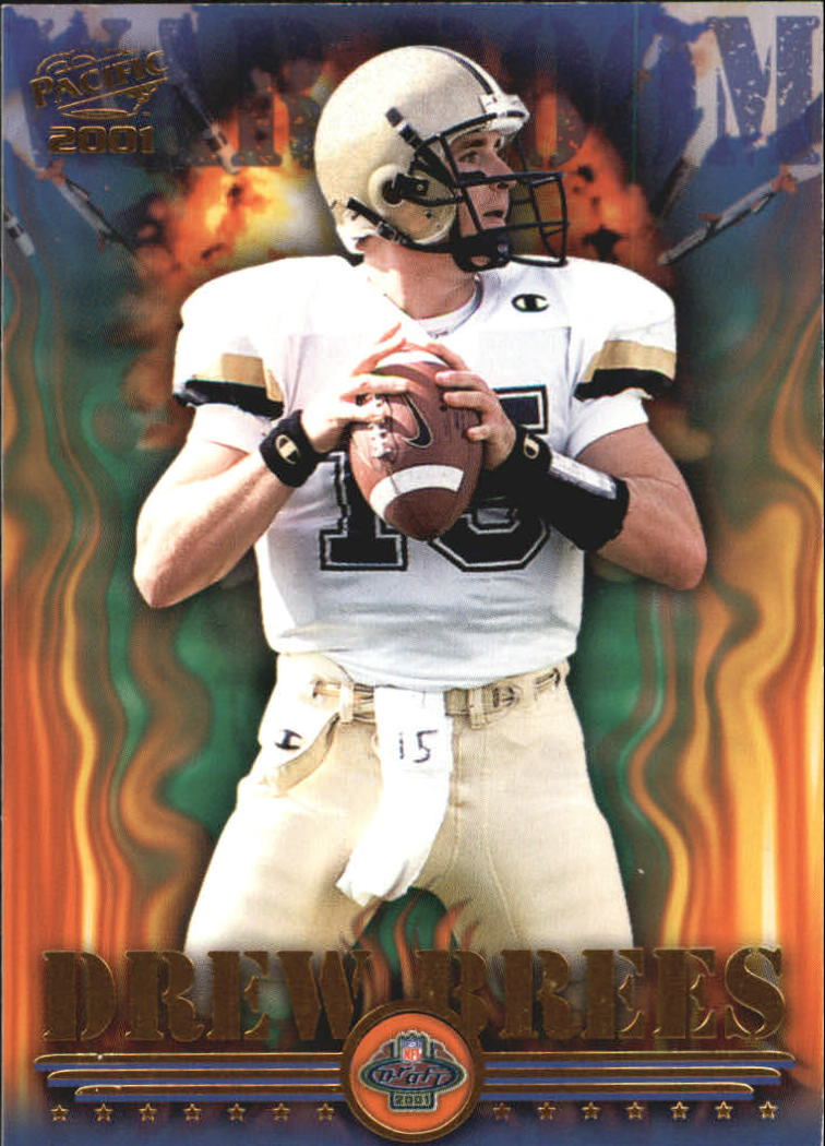 2001 Pacific War Room #4 Drew Brees front image