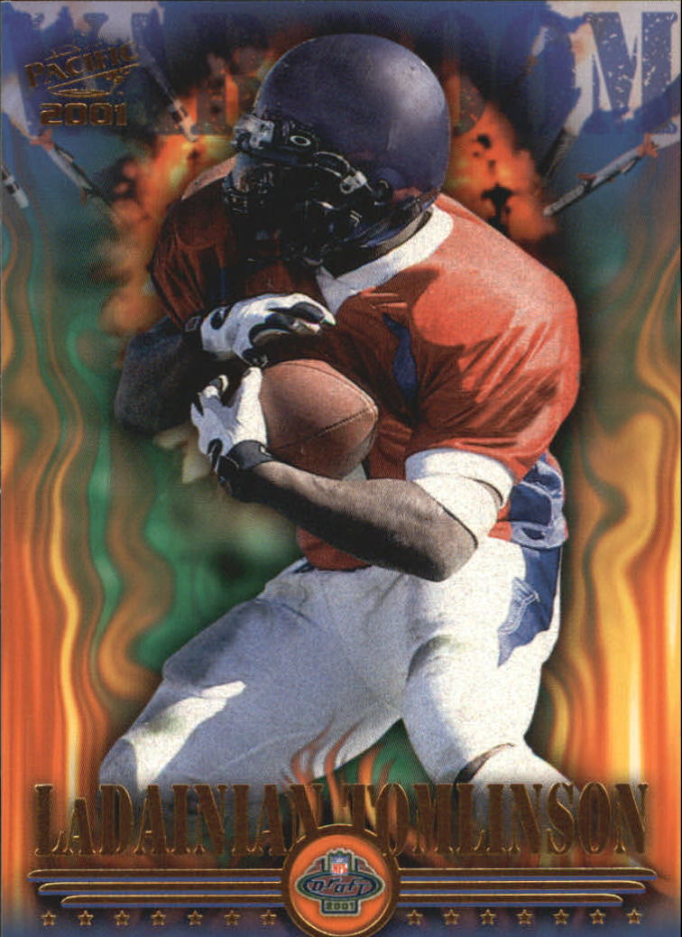2001 Pacific War Room #17 LaDainian Tomlinson