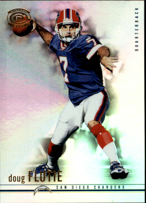 2001 Pacific Dynagon #81 Doug Flutie