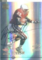 2001 Pacific Dynagon #101 Michael Bennett AU RC