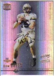 2001 Pacific Dynagon #102 Drew Brees AU RC
