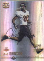 2001 Pacific Dynagon #118 Chad Johnson AU RC